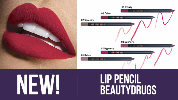 New! Beautydrugs Lip Pencil - 6 shades