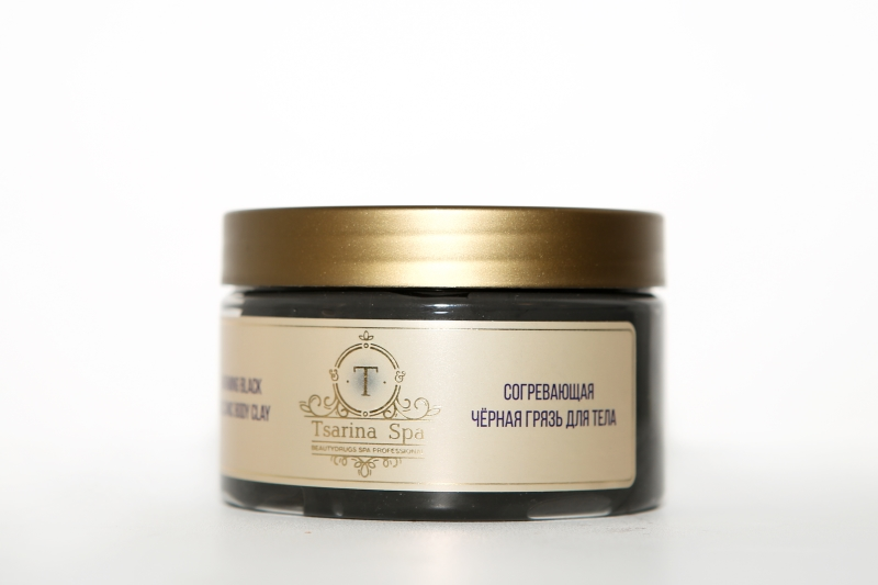 Tsarina Spa Warming Black Volcanic Body Clay