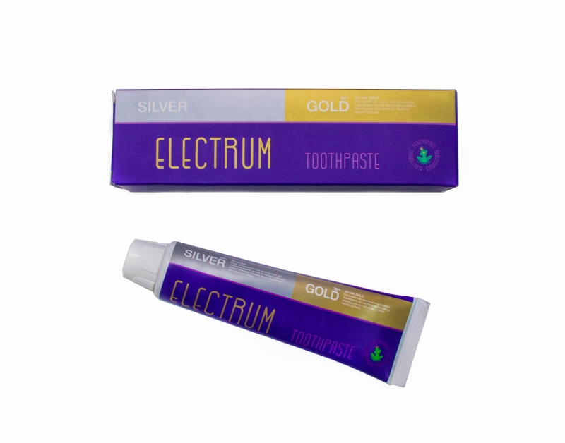 Beautydrugs Electrum Gold Silver Toothpaste