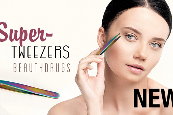 Super Tweezers - available now on Beautydrugs.net
